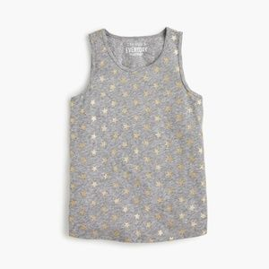 crewcuts J. CREW Girl's Star-Spangled Tank Top NEW